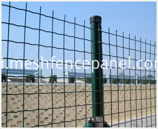 c post wire mesh fence