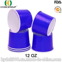 12 oz Einweg Papier Suppenschüssel, Suppe Pappbecher (12oz-1)