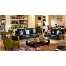 Explosion Models America Style Leather Sofa (C023)