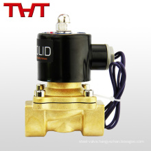 Waterproof direct acting plastic solenoid valve normally open 5v dc