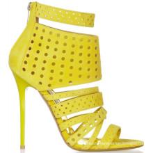 beautiful golden party women shoes 2015