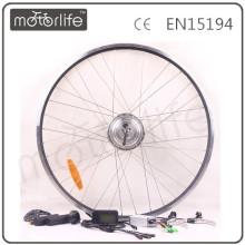 MOTORLIFE прямые поставкы фабрики утверждение CE велосипед pedelec комплект