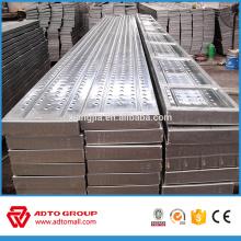 AS / NZS 1577 australien standard Kwikstage Quickstage galvanisé plaques de planches en acier en métal