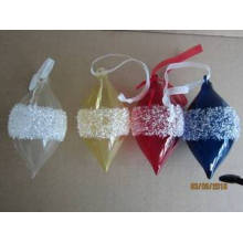 Pendentif Cone en verre couleur pour Noël
