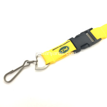 Polyesternycklar Silk Screen Lanyards