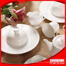 Hotel e restaurante branco talheres para louças de banquete do casamento uso da porcelana