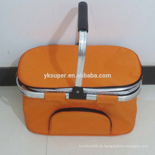 Novo saco de sacola de piquenique plegável e dobrável térmico isolado