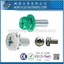 Taiwan M1.0-6.0 MPF parafuso de combinação eletrônica com lavadora SEMS Screws