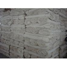 Tecido 100% algodão cinza para tingimento