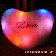Colorful LED Light Pillow/Lucky Star/Bear's Paw/Love Pillow, Ideal for Holiday/Christmas Gifts