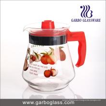 1.5L Printing Glass Tea Pot