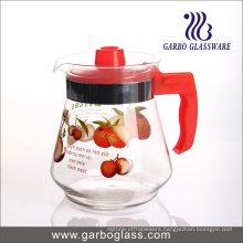 1.5L Printing Glass Tea Pot