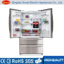 HC767WE Refrigerador de puerta francesa sin escarcha con doble ciclo de fabricación de hielo