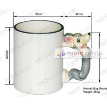Sunmeta munfactory sublimation animal mug