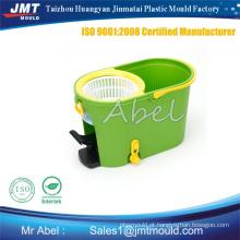 plástico da injeção mop balde do molde