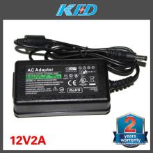 Adaptador AC 12V 5A 8A 10A 4A 2A 3A para LED Light Desktop AC DC Adapter