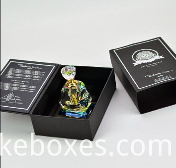 Book Shape Box For Perfume Packaging