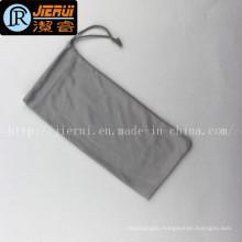 Factory Supply 100% Polyester Microfiber Drawstring Eyewear Bags