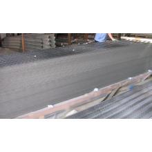 Plaque en tôle d'aluminium en relief pour la construction