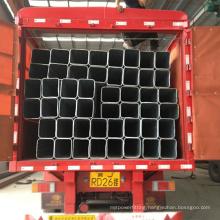 20x20 to 200x200 galvanized square steel tube hot dip galvanized ms square pipe SHS HSS