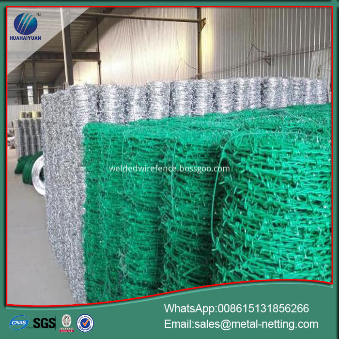pvc coated galvanized barb wire