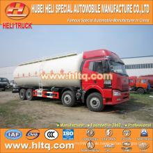 FAW bulk Zement Lieferwagen 8x4 40M3 310hp niedrigen Preis Qualität