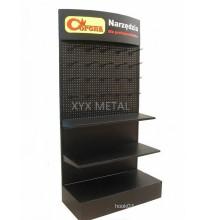 Pegboard Metal Display Prateleira Prateleira Gondola Supermercado Rack