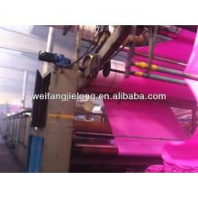 100% Polyester, einfarbig gefärbtes Bettlaken