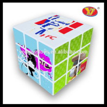 YongJun Cheap Custom Made Magic Puzzles Cube pour jouets promotionnels OEM / ODM