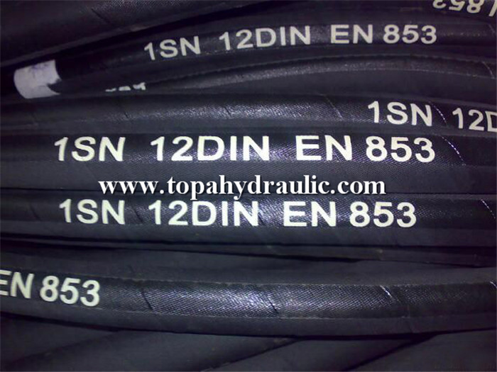 Stainless+steel+flexible+high+pressure+hydraulic+rubber+hose