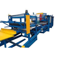 sandwich rock wool panel roll forming machine