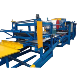 Sandwich Rock Wool Panel Roll Forming Machine
