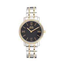 Montre Lady en acier inoxydable de style assic