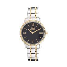 Assic estilo aço inoxidável lady watch