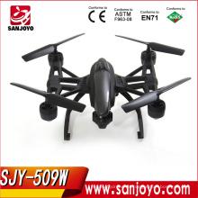 2016 nuevo rc quadcopter 509 W alta espera rc drone con wifi fpv cámara buena calidad drone