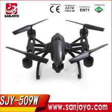 2016 new rc quadcopter 509W high hold rc drone with wifi fpv camera good quality drone