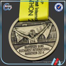 Médaille demi-marathon personnalisée