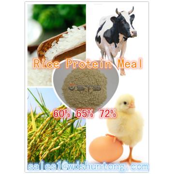 Repas de protéines de riz (60% 65% 72%) Vente chaude