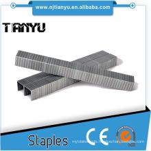 19 GA 1/2 inch SB03020 Series Staples Galvanized Fine Wire staples