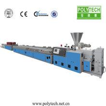 diseño especial de 2015 para wpc panel compuesto de PVC, máquina plástica, máquina de extrusión para exportar