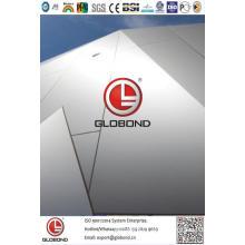 Globond Plus PVDF panel compuesto de aluminio (PF141)