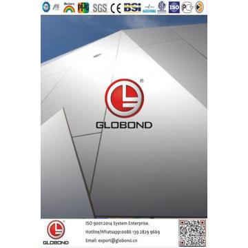 Globond Plus PVDF panneau composite en aluminium (PF141)