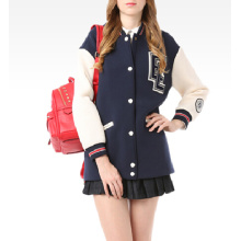 Lady Fashion Clothes Casual Baseball Jackets Women Clothes