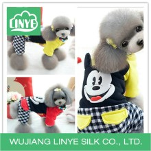 cute fleece dog clothes wholesale / factory cotton clothes dog