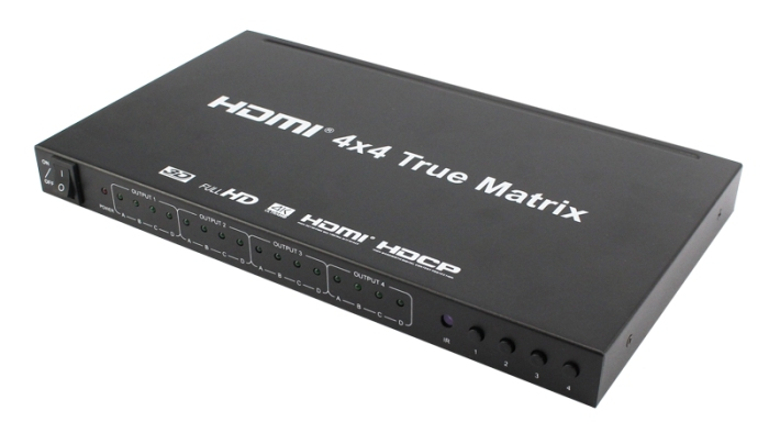 hdmi matrix 4x4