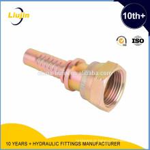 Encaixes de tubulação hidráulicos / encaixes de mangueira / ISO fêmeas fêmeas de ORFS 12151-1 de Seat liso - SAE J516