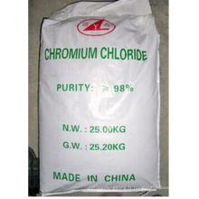 Trichlorure de chrome 98% cristallin vert foncé pour l'industrie