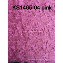 2016 Laço de alta qualidade, Guipure Lace Tela, Flower Nupcial Lace Fabric Atacado