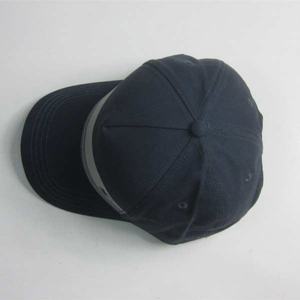 5 Panel Rubber Print Baseball Cap