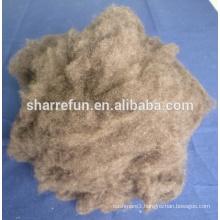 Chinese Tibet Yak wool dark brown 18.5mic 26mm